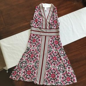 Women's London Times Size 6 Sleeveless Dress